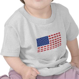 Motor-Cycle-Flag-Cruiser Tee Shirt