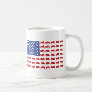 Motor-Cycle-Flag-Sport Mug