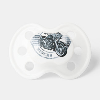 Motor Cycle Rider Biker Baby Pacifier