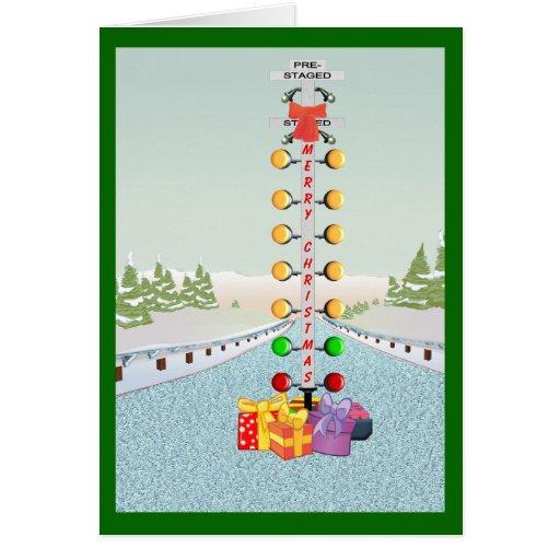 Motor Head Christmas Card
