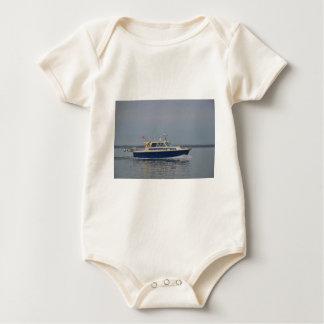 Motor Launch Lorna Adam Baby Bodysuit