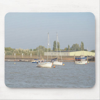 Motor Sailer Misbehave Mouse Pad