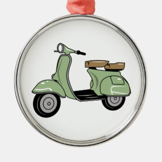 Motor Scooter Christmas Ornament