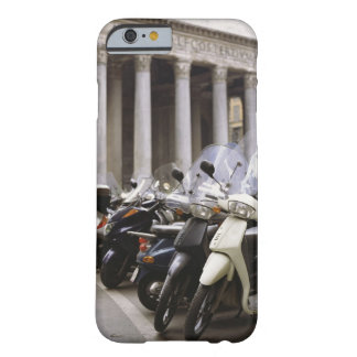 Motor scooters parked outside the Pantheon in Barely There iPhone 6 Case
