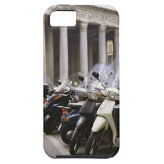Motor scooters parked outside the Pantheon in Case For The iPhone 5