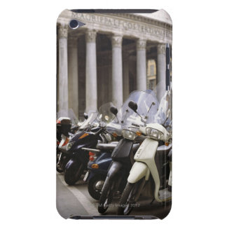Motor scooters parked outside the Pantheon in iPod Case-Mate Cases