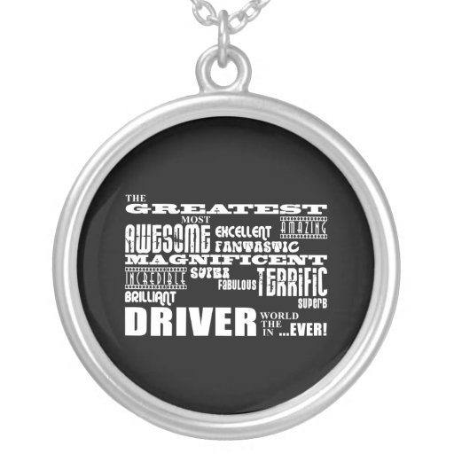 Motor Sports Racing Drivers Greatest Driver World Custom Necklace
