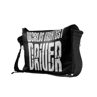 Motor Sports Racing Drivers Worlds Greatest Driver Messenger Bags