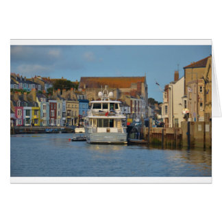 Motor Yacht In Weymouth Card