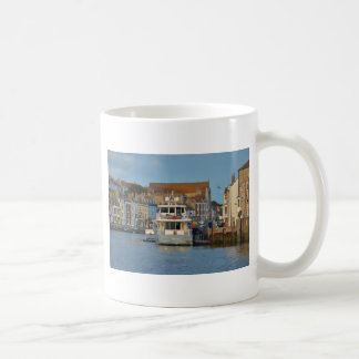 Motor Yacht In Weymouth Coffee Mug