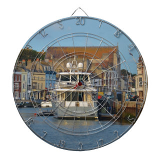 Motor Yacht In Weymouth Dartboard