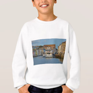 Motor Yacht In Weymouth Sweatshirt