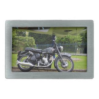 Motorbike And Spitfire Belt Buckles