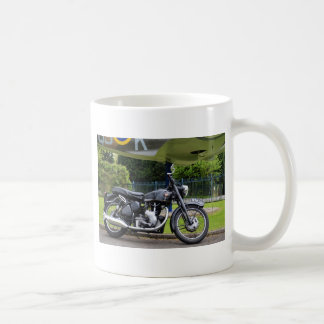 Motorbike And Spitfire Coffee Mug