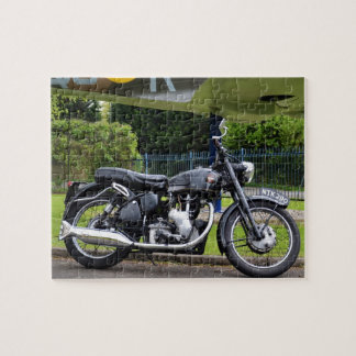 Motorbike And Spitfire Jigsaw Puzzle