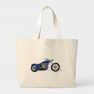 Motorbike Tote Bags