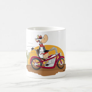 Motorbike Cow Coffee Mug