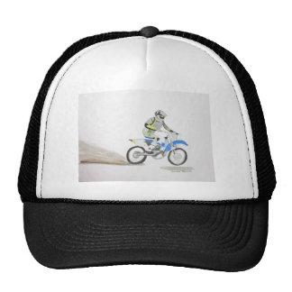 Motorbike driver cap