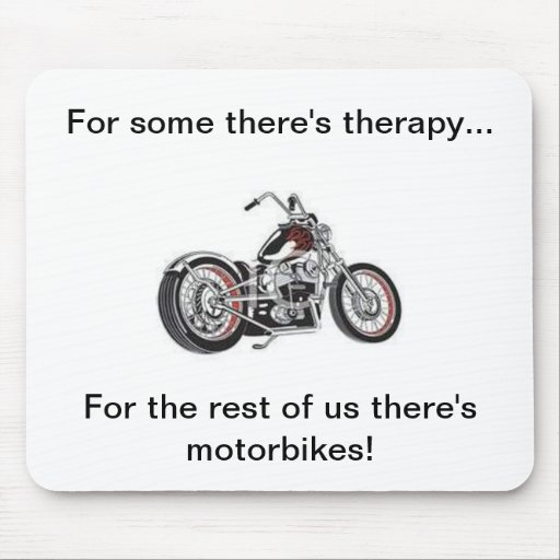Motorbike mousepad