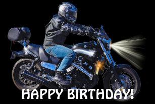 Happy Birthday Biker Gifts Gift Ideas Zazzle Uk