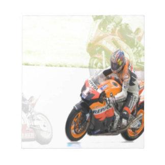 Motorbike Notepad