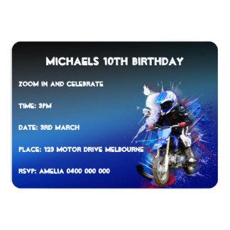 motorcross invitation