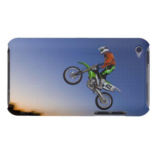Motorcross Rider Barely There iPod Cover