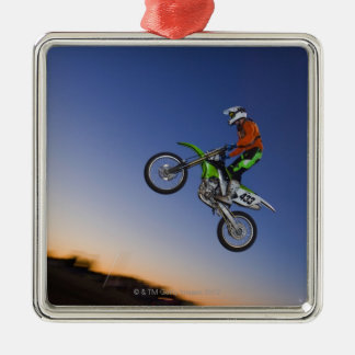 Motorcross Rider Christmas Ornament