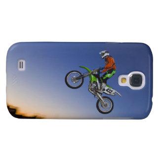 Motorcross Rider Galaxy S4 Case
