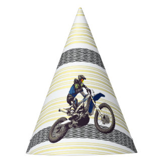 Motorcross Rider Party Hat