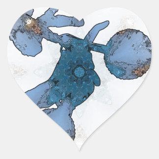 Motorcrossing - Moto-X 04.jpg Heart Sticker