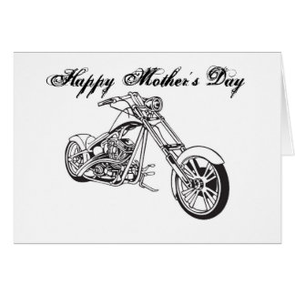 Motorcycle..2, Happy Mother's Day Card
