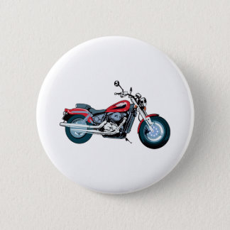 Motorcycle 6 Cm Round Badge