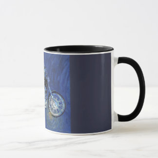 Motorcycle Abstract coffee mug