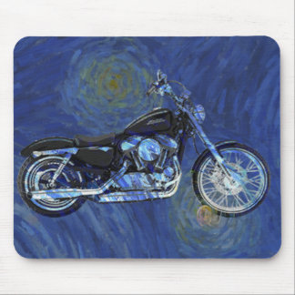 Motorcycle Abstract Mouse Pad