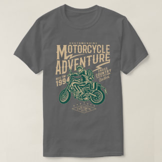Motorcycle Adventure Men's T-Shirt