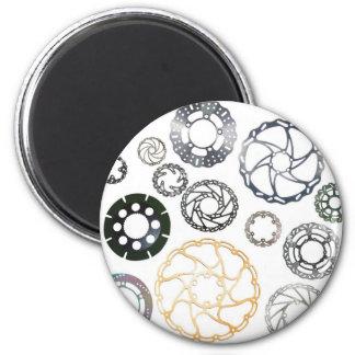 motorcycle and bike brake discs 6 cm round magnet