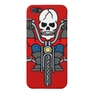 Motorcycle and skull case for the iPhone 5