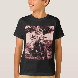 Motorcycle cat t-shirt