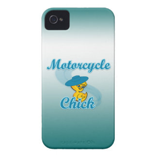 Motorcycle Chick #3 iPhone 4 Cases
