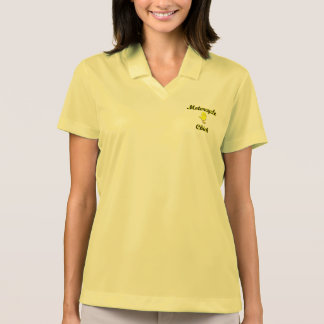 Motorcycle Chick Polo T-shirt