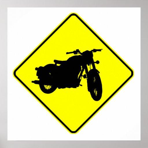 Motorcycle Crossing Posters