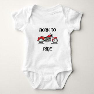 Motorcycle Design Baby Bodysuit