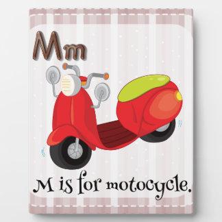 Motorcycle Display Plaque
