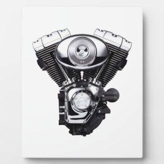 Motorcycle Engine Plaque