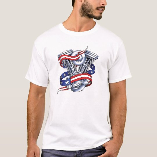 Motorcycle Engine T-Shirt