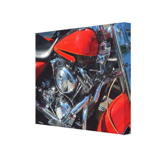 Motorcycle engine wrapped canvas gallery wrapped canvas