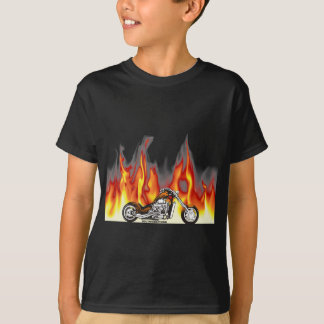 Motorcycle Fire T-Shirt