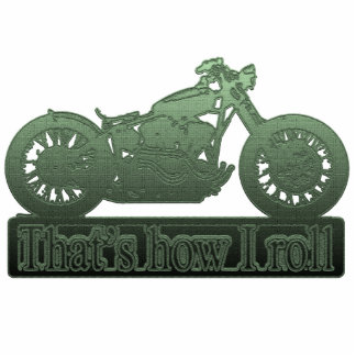 motorcycle - how i roll photo cutout