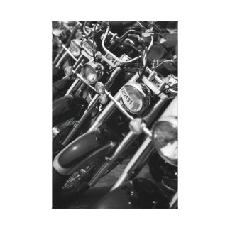 Motorcycle II Canvas Print